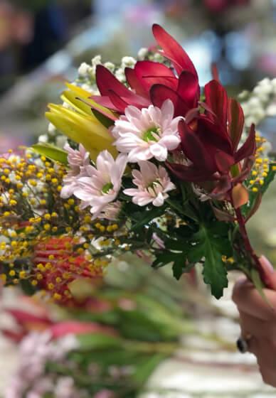 Seasonal Bouquet Workshop