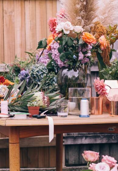 Seasonal Floral Arranging Workshop