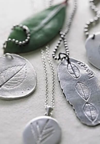 Silver Clay Jewellery Making Class