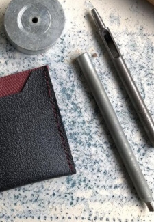 Simple Leather Card Holder Workshop