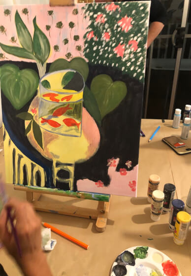 Sip Wine and Paint Workshop