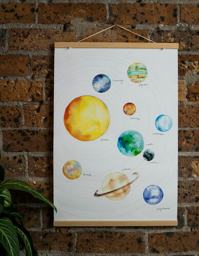Solar System Watercolour Painting Class