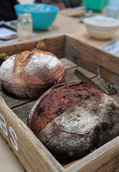 Sourdough Basics Baking Class