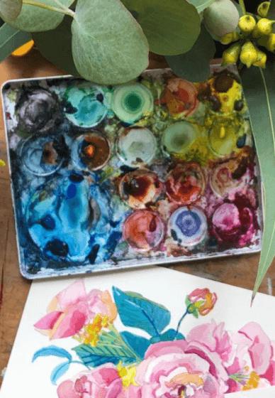 Still Life Watercolour Painting Class