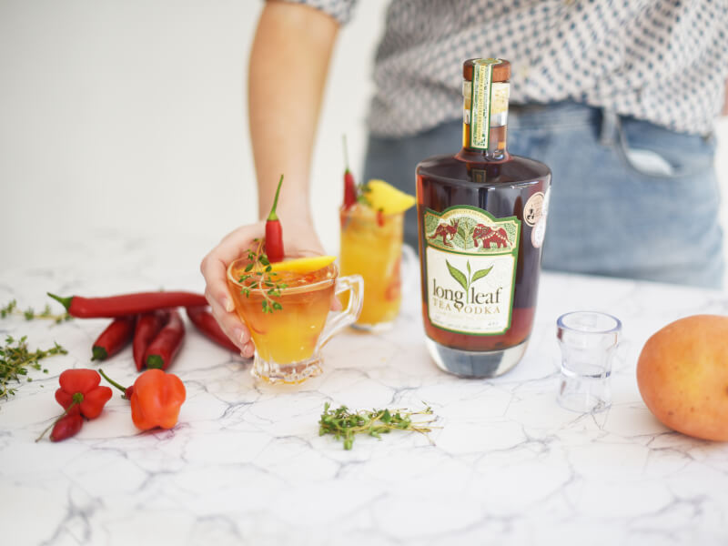 Tea Infused Vodka Cocktail Making Class