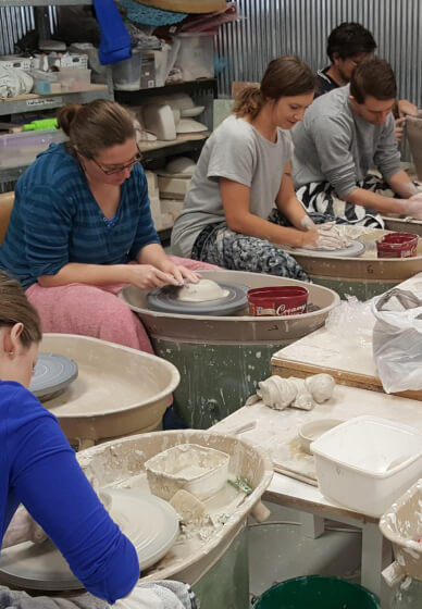 Team Building Pottery Class