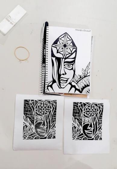 Textile Printmaking Workshop: Handmade Stamps