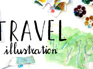 Travel Illustration Class