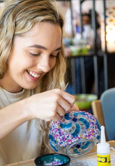 Turkish Mosaic Lamp Class