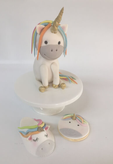 Unicorn Cake Topper Workshop