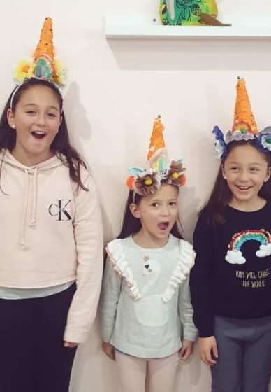 Unicorn Horn Class for Kids (5-8 Years)