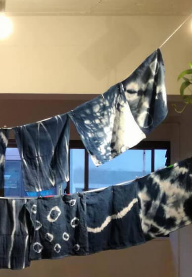 Unlimited Indigo Dyeing Workshop
