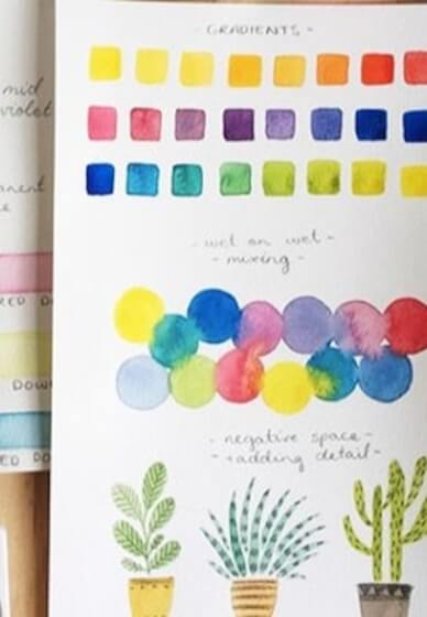Watercolour and Illustration Workshop