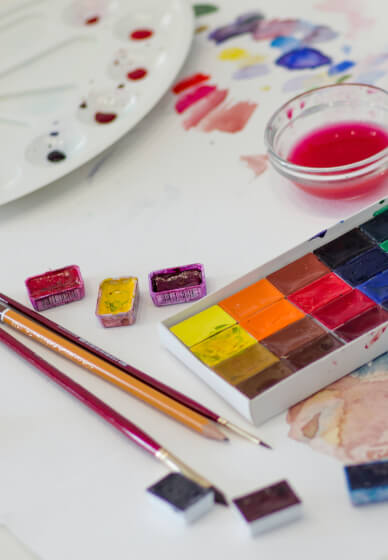 Watercolour Painting Class for Kids (5-12 Years)