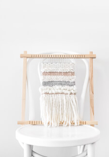 Weave a Wall Hanging