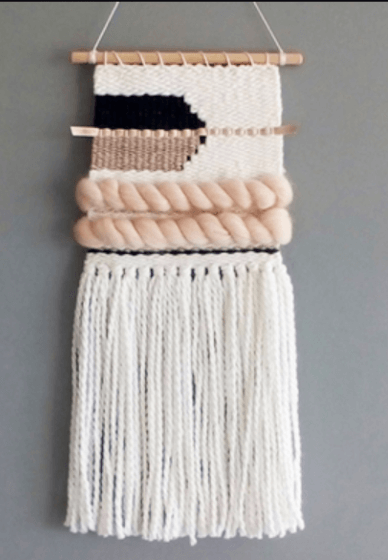 Weaving Class with a Mini Loom