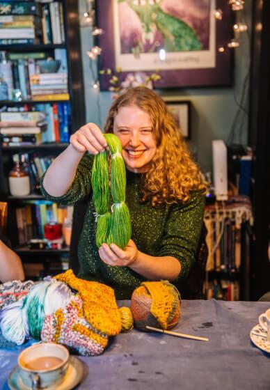 Yarn Dyeing and Crochet Workshop