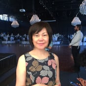 Cathy Choo, sewing and textiles teacher