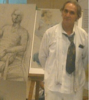 Mishko Desovski, painting teacher