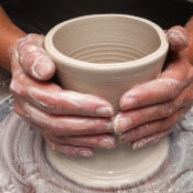 Something At Mary's Pottery Classes